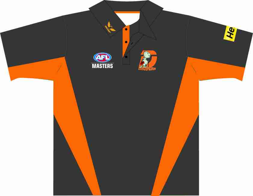 Dinosaurs Polo front