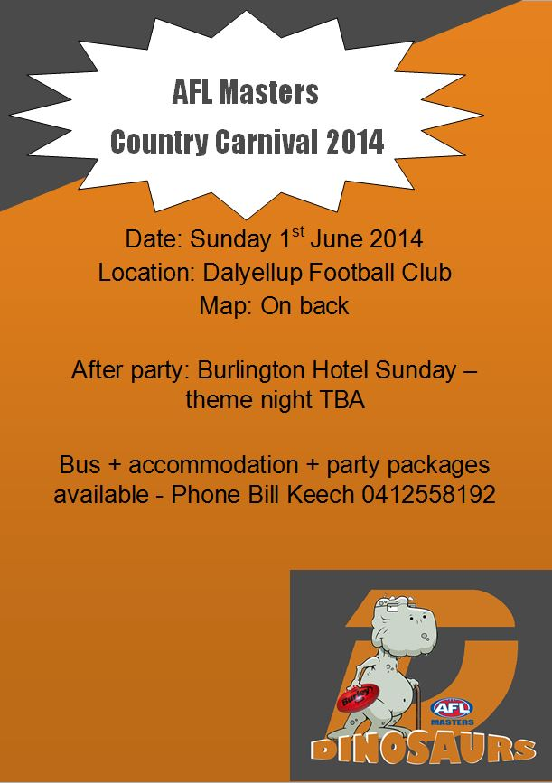 AFL Masters Country Carnival 2014