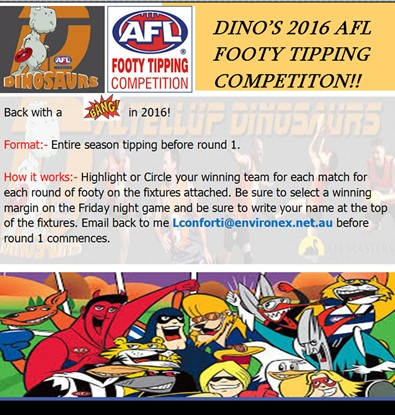 Footy Tipping 2016